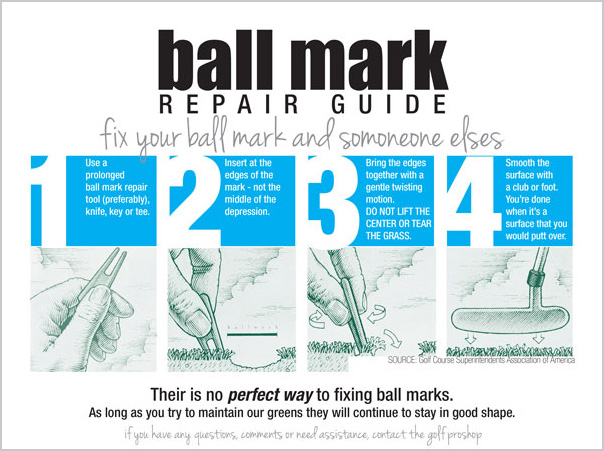 Ball Mark Repair Guide